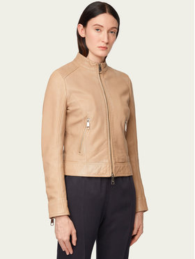 Boss Boss Veste en cuir Jabelia 50429850 Marron Regular Fit