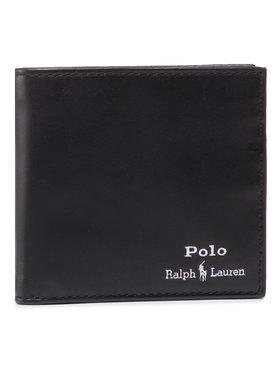 Polo Ralph Lauren Polo Ralph Lauren Didelė Vyriška Piniginė Mpolo Co D2 405803866002 Juoda