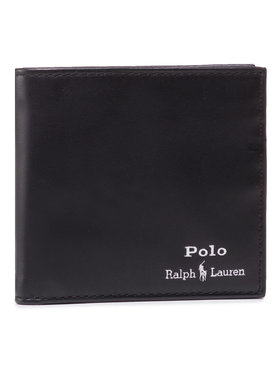 Polo Ralph Lauren Polo Ralph Lauren Große Herren Geldbörse Mpolo Co D2 405803866002 Schwarz