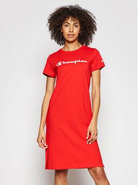Champion Champion Každodenné šaty 112609 Červená Regular Fit