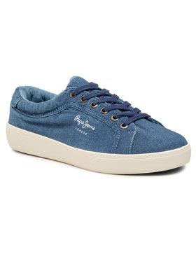 Pepe Jeans Pepe Jeans Sneakers Rene Denim PLS30824 Bleu