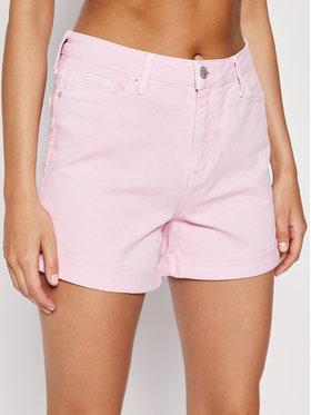 Tommy Hilfiger Džínsové šortky Rome Hw Short Hana WW0WW27415 Ružová Regular Fit