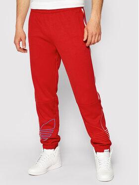 adidas adidas Pantaloni trening adicolor FTO GN3557 Negru Regular Fit