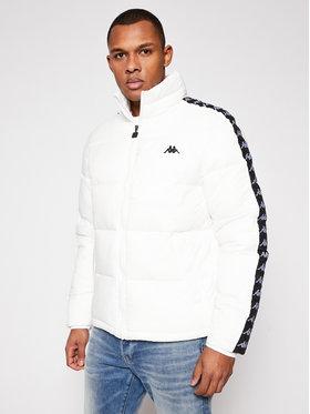 Kappa Kappa Μπουφάν πουπουλένιο Herold 308025 Λευκό Regular Fit