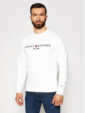 Tommy Hilfiger Tommy Hilfiger Bluza Logo MW0MW11596 Biały Regular Fit