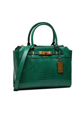 Guess Guess Дамска чанта Raffie (CB) HWCB77 60230 Зелен