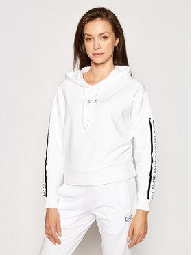 EA7 Emporio Armani EA7 Emporio Armani Sweatshirt 3KTM15 TJ31Z 0102 Blanc Regular Fit