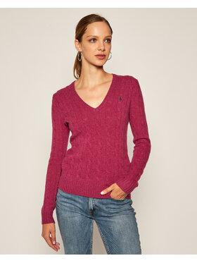 Polo Ralph Lauren Polo Ralph Lauren Sweter Kimberly Wool/Cashmere 211508656070 Różowy Regular Fit
