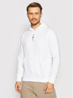 Calvin Klein Jeans Calvin Klein Jeans Sweatshirt J30J318302 Blanc Regular Fit