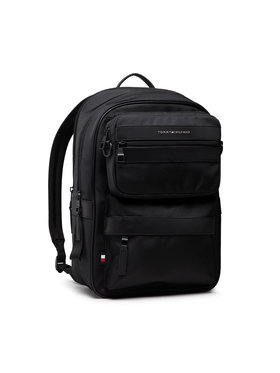 Tommy Hilfiger Tommy Hilfiger Zaino Elevated Nylon 3 In 1 Backpack AM0AM07581 Nero