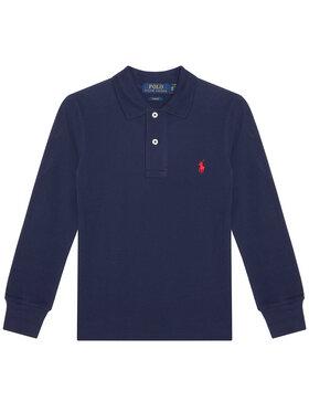 Polo Ralph Lauren Polo Ralph Lauren Polo marškinėliai 323708858024 Tamsiai mėlyna Slim Fit