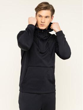 Under Armour Under Armour Μπλούζα τεχνική Fleece® ½-Zip 1329808 Μαύρο Loose Fit
