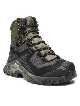 Salomon Salomon Παπούτσια πεζοπορίας Quest Element Gtx GORE-TEX 414571 28 V0 Πράσινο
