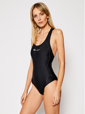 Champion Champion Costum de baie Cross Back Scoop 113025 Negru