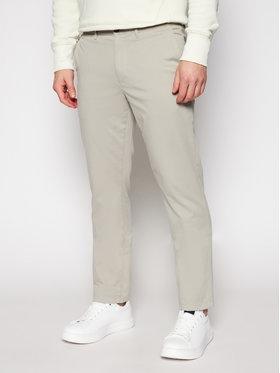 Tommy Hilfiger Tommy Hilfiger Kalhoty z materiálu Denton MW0MW13286 Béžová Straight Fit