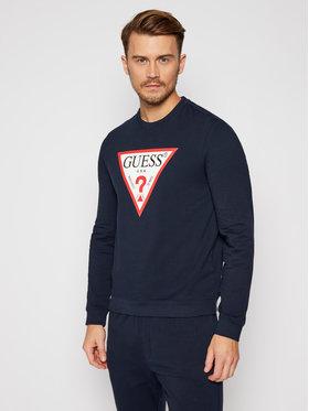 Guess Guess Džemperis M0BQ37 K7ON1 Tamsiai mėlyna Slim Fit