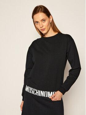 MOSCHINO Underwear & Swim MOSCHINO Underwear & Swim Mikina 17 399 029 Černá Regular Fit
