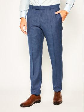 Strellson Strellson Pantaloni de costum 11 Mercer2.012 30020628 Bleumarin Slim Fit