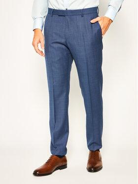 Strellson Strellson Spodnie garniturowe 11 Mercer2.012 30020628 Granatowy Slim Fit