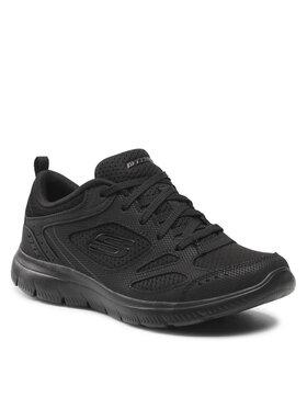 Skechers Skechers Cipő Suited 12982/BBK Fekete