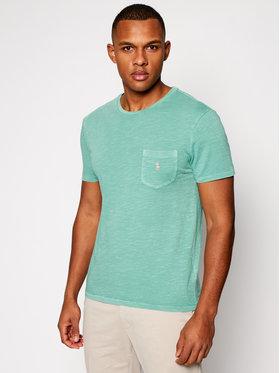 Polo Ralph Lauren Polo Ralph Lauren T-Shirt Slub 710795137014 Grün Slim Fit