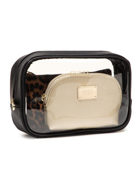 Guess Guess Σετ τσαντάκια καλλυντικών Coreen Accessories PWCORE P1150 Μαύρο