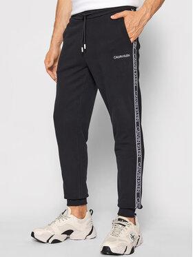 Calvin Klein Calvin Klein Spodnie dresowe Essential Logo Tape K10K107316 Czarny Regular Fit