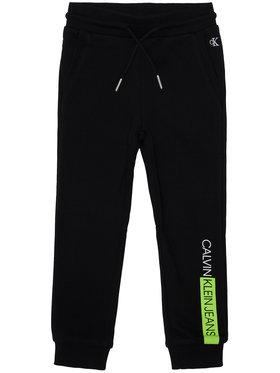 Calvin Klein Jeans Calvin Klein Jeans Spodnie dresowe Institutional Block IB0IB00516 Czarny Regular Fit