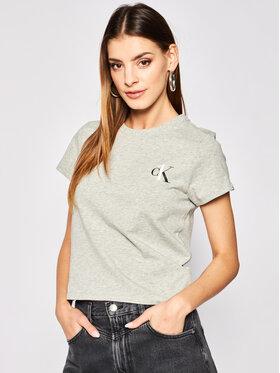 Calvin Klein Underwear Calvin Klein Underwear Μπλούζα πιτζάμας 000QS6356E Γκρι Regular Fit