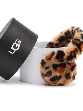 Ugg Ugg Ушанки W Faux Fur Leopard Earmuff 20071 Кафяв