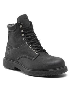 Guess Guess Šnurovacia obuv FMLAI8 LEA11 Čierna