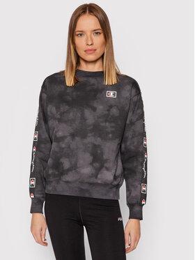 Champion Champion Sweatshirt Blend Tie Dye 114758 Noir Custom Fit