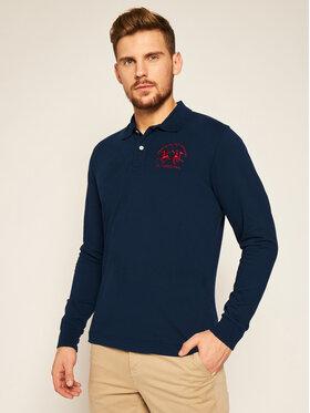 La Martina La Martina Polo marškinėliai CCMP03 PK001 Tamsiai mėlyna Regular Fit