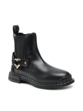 LOVE MOSCHINO LOVE MOSCHINO Členková obuv s elastickým prvkom JA21063G1DIA0000 Čierna