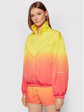 Calvin Klein Jeans Calvin Klein Jeans Kurtka przejściowa Dip Dye J20J216257 Żółty Regular Fit
