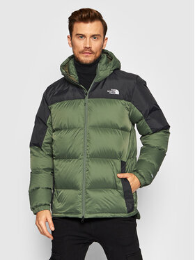 The North Face The North Face Пухено яке Diablo NF0A4M9LWTQ Зелен Regular Fit