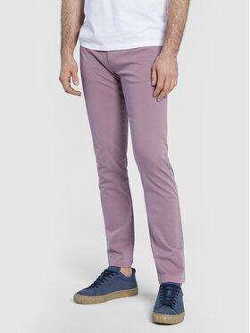 Vistula Vistula Текстилни панталони Baldwin XA1300 Виолетов Slim Fit