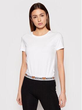 MOSCHINO Underwear & Swim MOSCHINO Underwear & Swim T-shirt ZUA1908 9003 Bianco Regular Fit