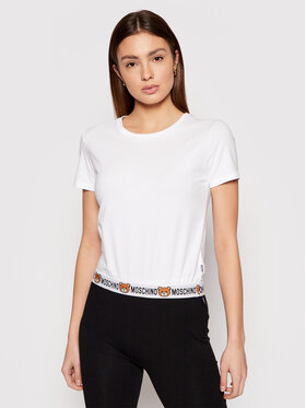 MOSCHINO Underwear & Swim MOSCHINO Underwear & Swim Тишърт ZUA1908 9003 Бял Regular Fit