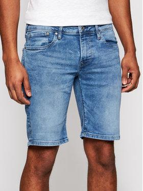 Pepe Jeans Pepe Jeans Džinsiniai šortai Hatch Tamsiai mėlyna Slim Fit