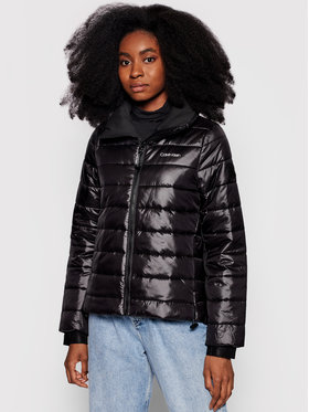 Calvin Klein Calvin Klein Kurtka puchowa Seasonal Sorona K20K203053 Czarny Regular Fit