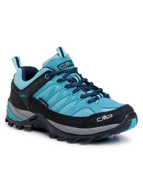 CMP CMP Trekkingi Rigel Low Wmn Trekking Shoe Wp 3Q54456 Niebieski