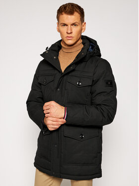 TOMMY HILFIGER TOMMY HILFIGER Zimní bunda Removable MW0MW16964 Černá Regular Fit