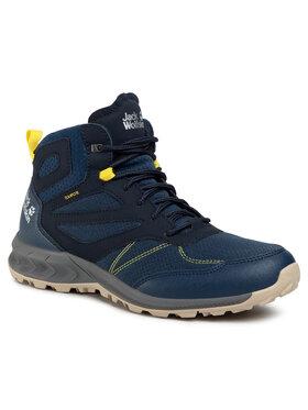 Jack Wolfskin Jack Wolfskin Trekingová obuv Woodland Texapore Mid M 4039201 Modrá