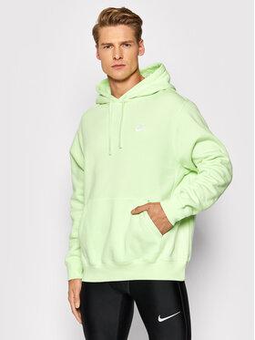 Nike Nike Bluză Sportswear Club BV2654 Verde Standard Fit