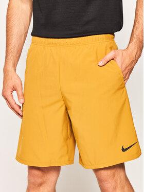 NIKE NIKE Short de sport Flex 927526 Marron Standard Fit
