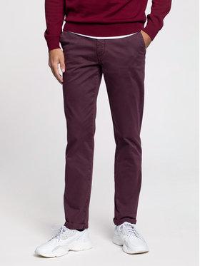 Vistula Vistula Spodnie materiałowe Malcolm XA0869 Bordowy Regular Fit