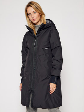Didriksons Didriksons Parka Aino 503168 Czarny Relaxed Fit
