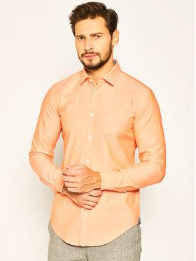 Boss Boss Koszula Rikki_53 50426738 Pomarańczowy Slim Fit