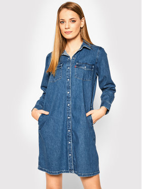 Levi's® Levi's® Robe chemise Selma 85793-0000 Bleu marine Regular Fit